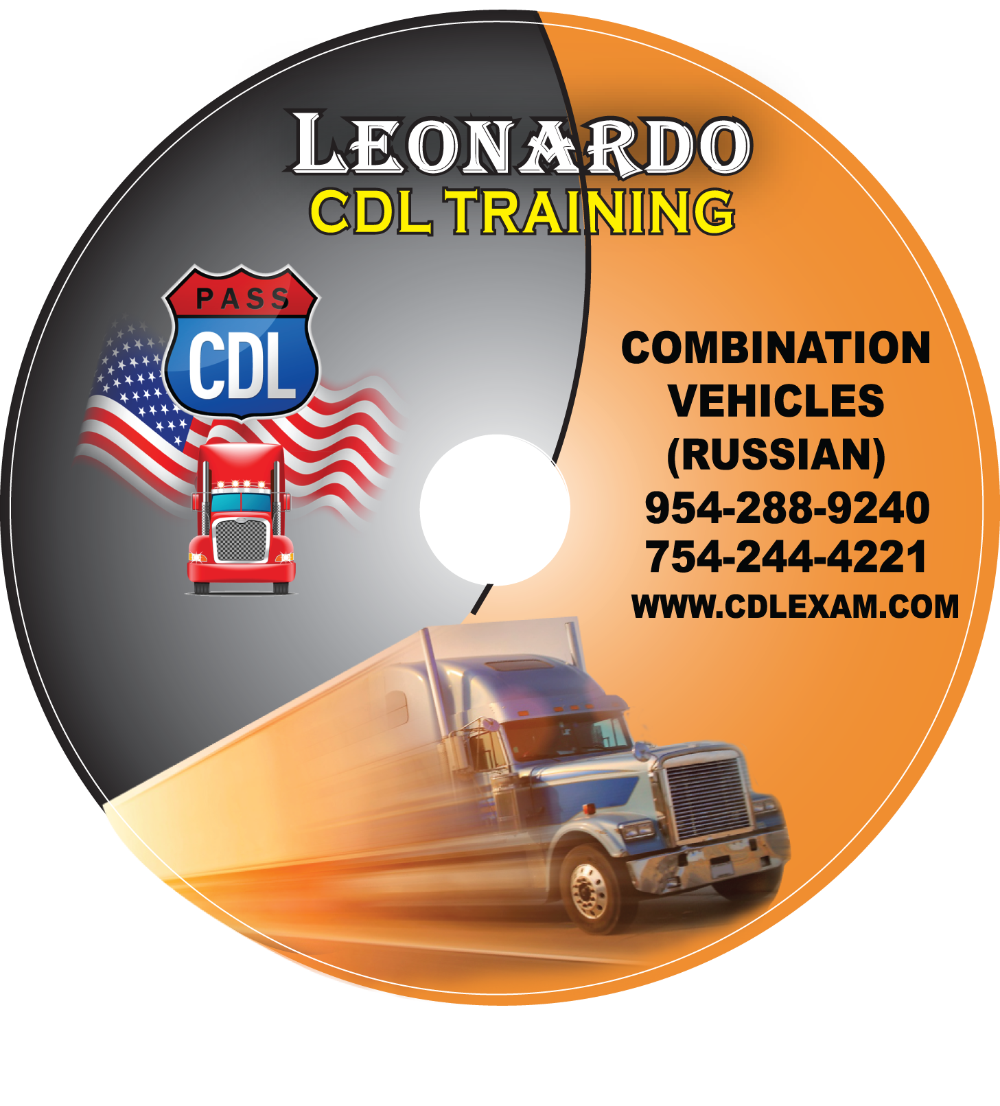 CDL TEST COMBINATION VEHICLES  CD FINAL